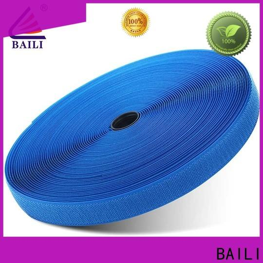 BAILI quality hook & loop tape customized for shoes
