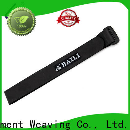 BAILI durable hook and loop strap factory direct supply for bundle