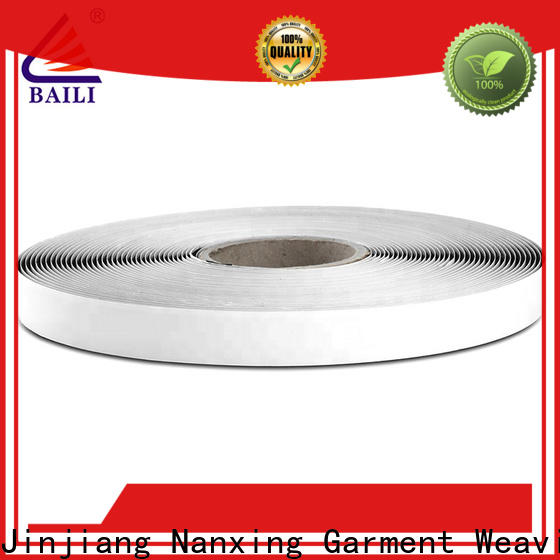 BAILI with dots self adhesive hook and loop tape manufacturer for photo frame