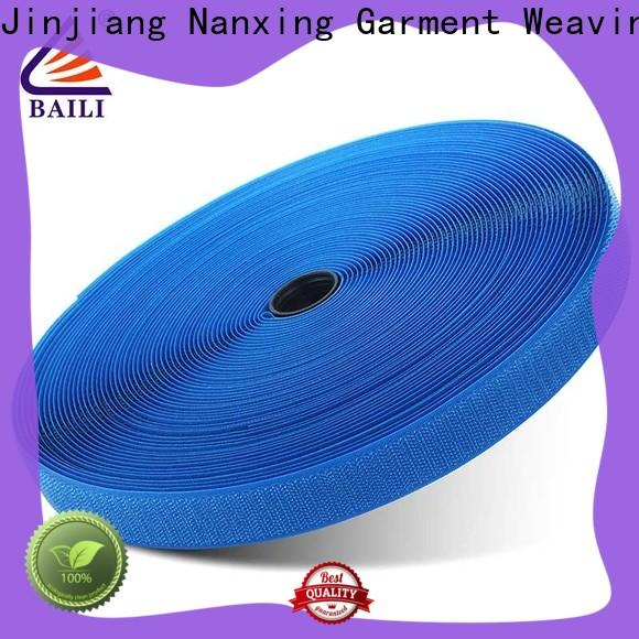 durable hook and loop fastener tape strong peeling strength factory direct supply for shoes