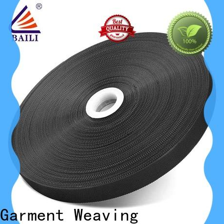 reliable hook pile tape plastic customized for clothes