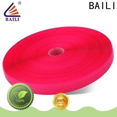 BAILI durable hook and loop customized for costumes