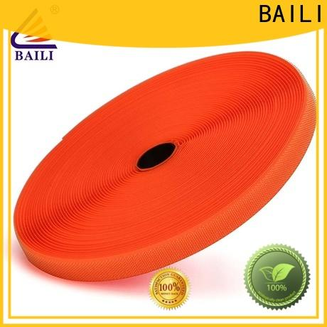 BAILI strong peeling strength hook loop customized for shoes