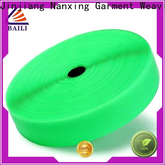 quality hook loop multicolor customized for shoes