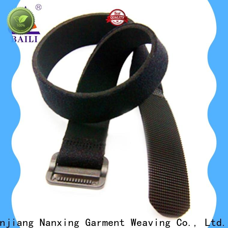 BAILI strong peeling strength reusable tie straps series for luggage