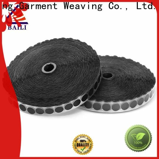 BAILI top quality self-adhesive hook and loop manufacturer for wood