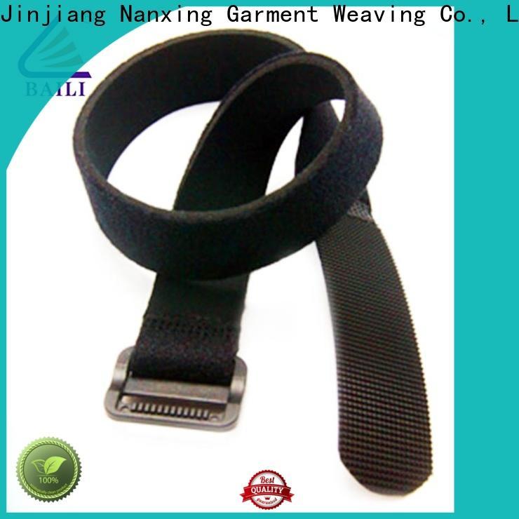 BAILI reusable hook & loop fasteners manufacturer for medical equipment