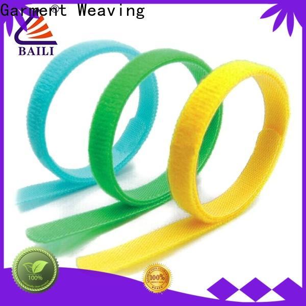 adjustable hook and loop strap wrap tie supplier for bundle