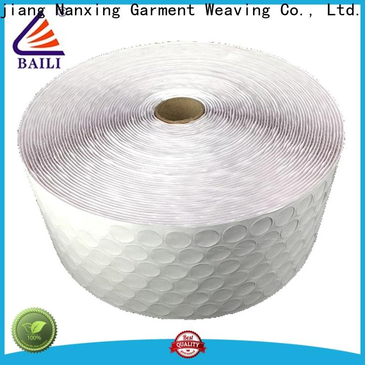 BAILI with hot melt glue self adhesive hook and loop fasteners supplier for photo frame
