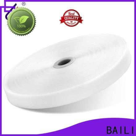 BAILI lightweight hook pile tape supplier for baby garments