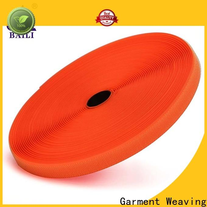 BAILI eco-friendly hook and loop fastener tape customized for curtain