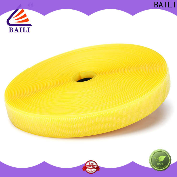 BAILI durable 3m hook and loop manufacturer for shoes