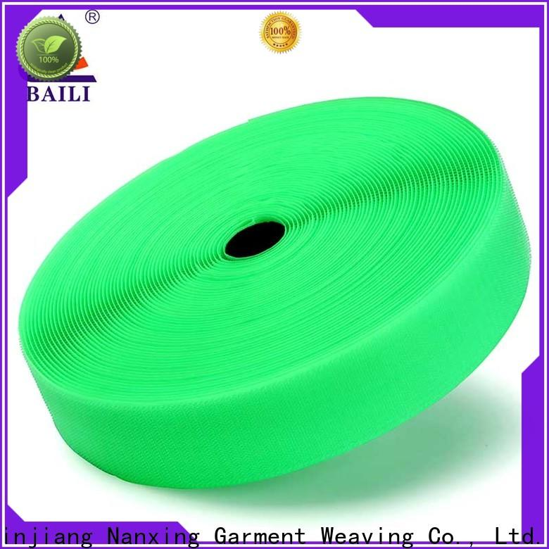 BAILI multicolor hook & loop tape factory direct supply for costumes