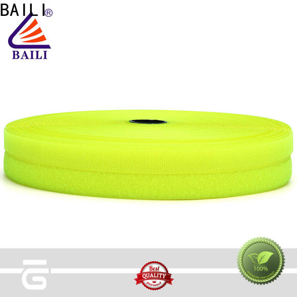 BAILI multicolor hook and loop tape wholesale for curtain