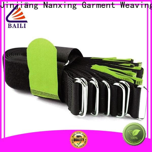 BAILI strong peeling strength loop fastener manufacturer for luggage