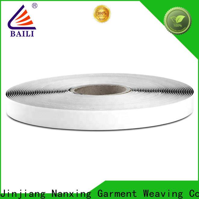 BAILI nylon self adhesive hook and loop tape customized for metal