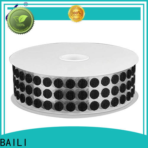real self adhesive hook and loop with dots manufacturer for wall