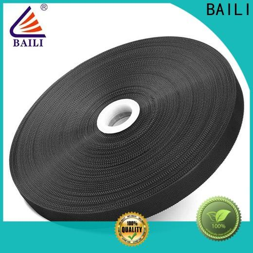 BAILI lightweight hook and loop fastener sewing supplier for luggage