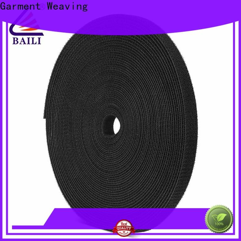 good price double sided hook and loop tape loop supplier for cable