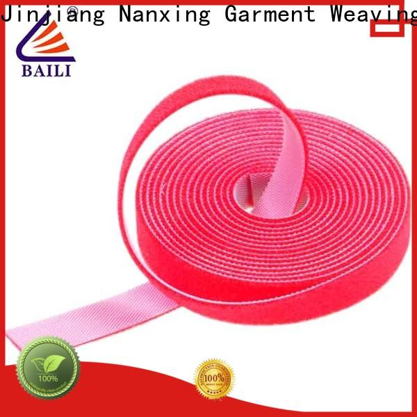 durable sticky back hook and loop tape hook factory direct supply for cable