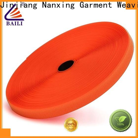 BAILI durable hook and loop tape for sewing factory direct supply for curtain