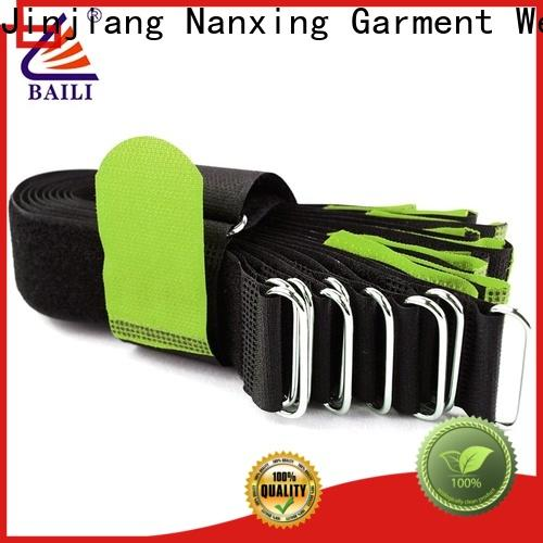 multi-purpose reusable tie straps multicolor series for medical equipment