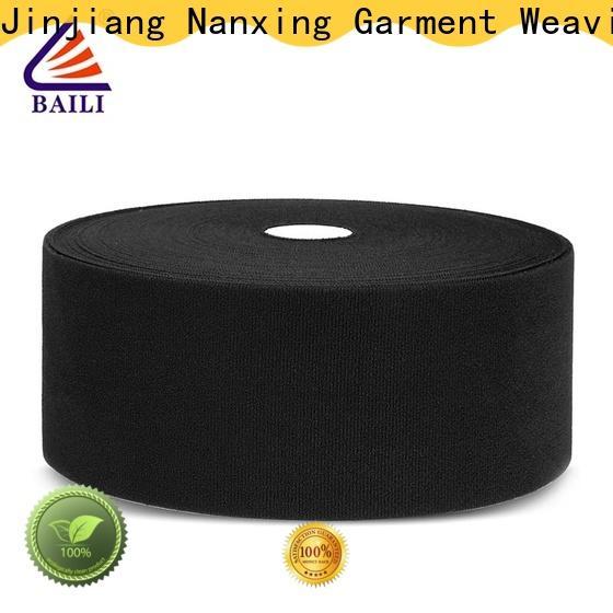 BAILI molded hook pile tape manufacturer for luggage
