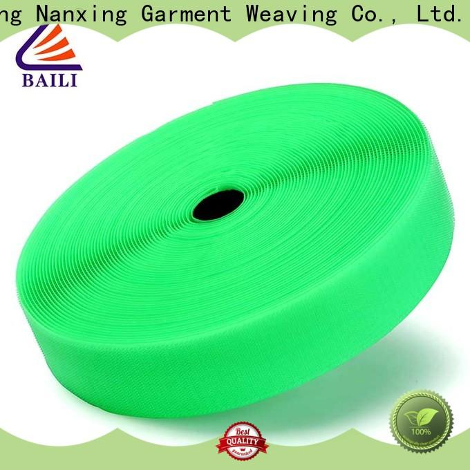 eco-friendly hook and loop tape multicolor manufacturer for costumes