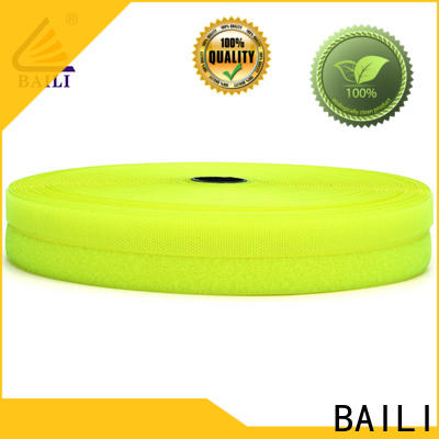 BAILI durable hook and loop tape factory direct supply for shoes