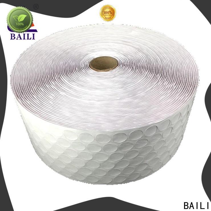 BAILI professional adhesive hook and loop manufacturer for metal