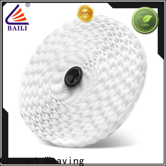 BAILI with hot melt glue self adhesive hook and loop fasteners supplier for wall