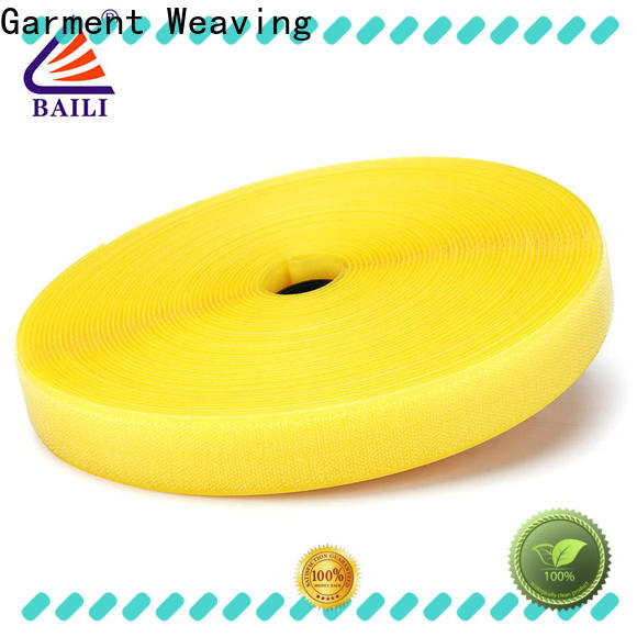 BAILI nylon hook & loop tape factory direct supply for costumes