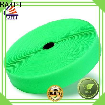 BAILI nylon hook and loop tape wholesale for curtain