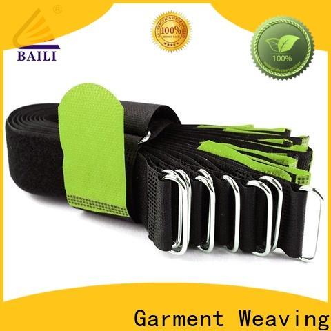 BAILI nylon hook and loop fastener supplier for bundle