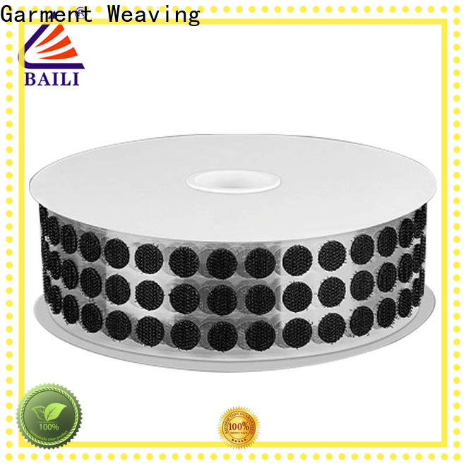 BAILI high viscosity self adhesive hook and loop fasteners supplier for wall