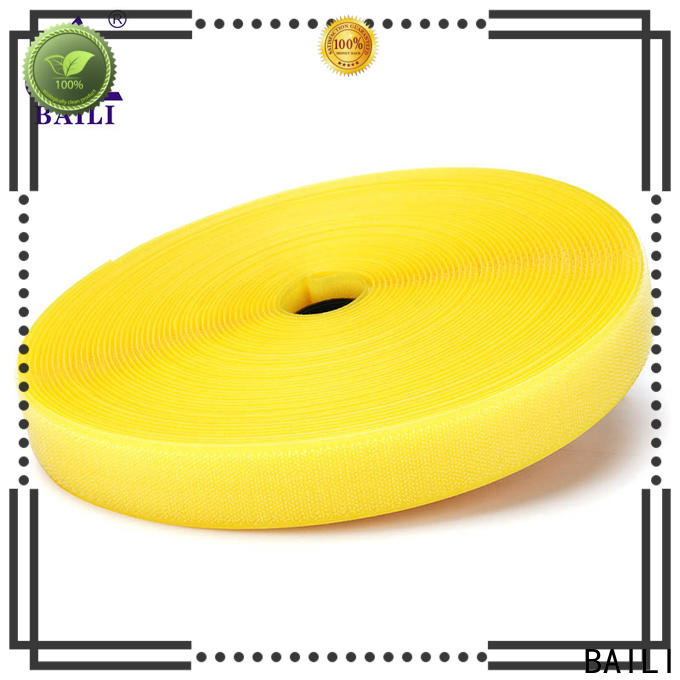 BAILI durable hook and loop tape customized for costumes