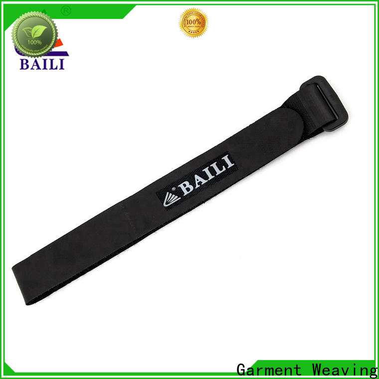 BAILI multi-purpose hook and loop cable ties supplier for cable ties