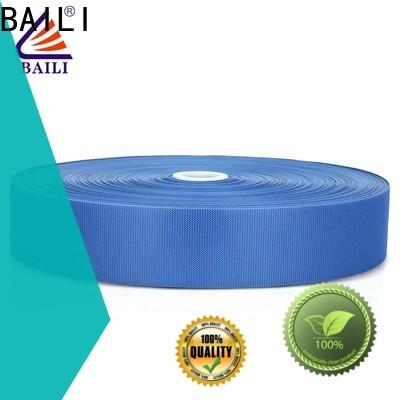 BAILI lightweight fastener tape customized for clothes