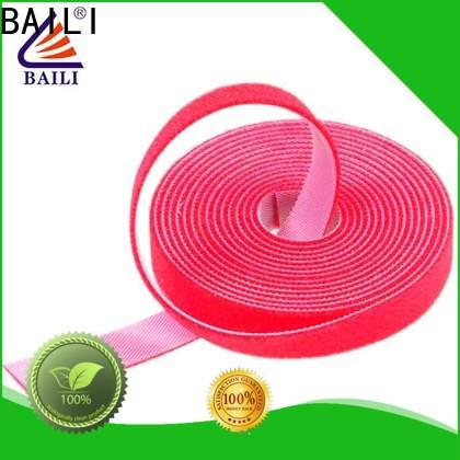 BAILI multi-purpose sticky back hook and loop supplier for strapping