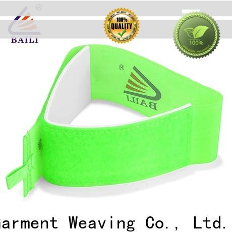 BAILI rubber hook and loop ski strap manufacturer for carrying skis