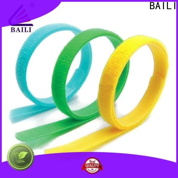 BAILI multicolor hook and loop cinch straps wholesale for luggage