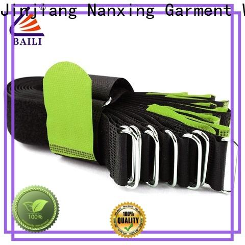 BAILI durable hook and loop straps wholesale for bundle