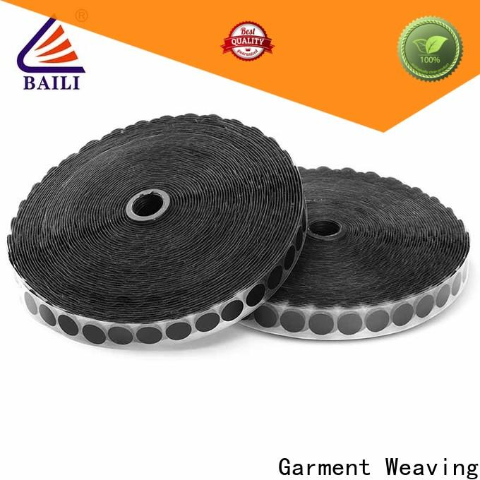 BAILI top quality self adhesive hook and loop tape wholesale for wood