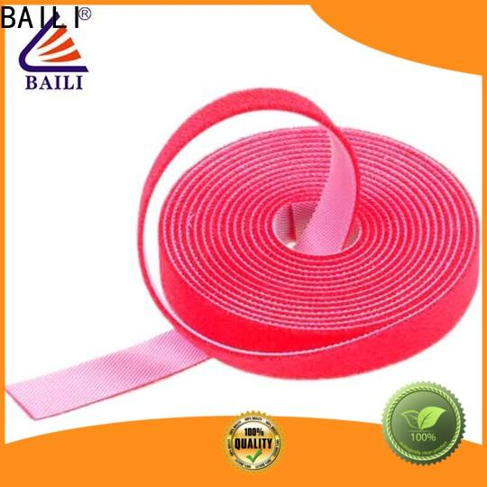 BAILI multi-purpose double sided hook and loop manufacturer for strapping