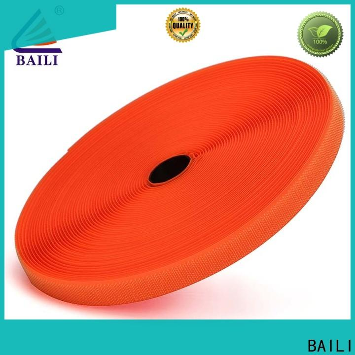 BAILI durable hook and loop tape for sewing customized for curtain