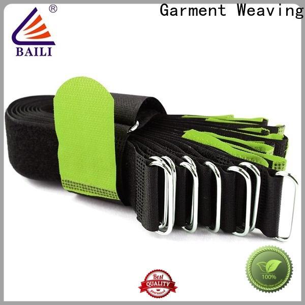 BAILI multi-purpose hook & loop fasteners manufacturer for cable ties