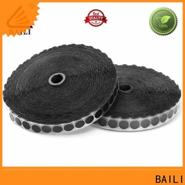 BAILI nylon self adhesive hook and loop wholesale for wood