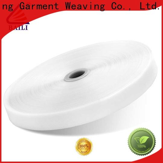 BAILI plastic hook and loop fastener sewing supplier for baby garments