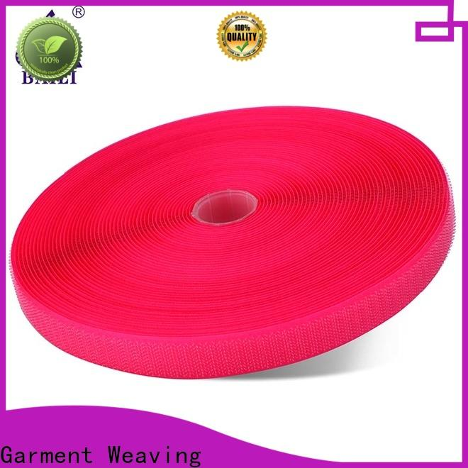 quality hook and loop fastener tape nylon customized for leather-ware