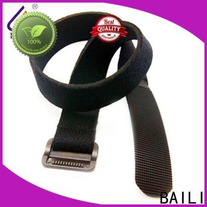 BAILI multicolor nylon hook and loop fasteners wholesale for bundle